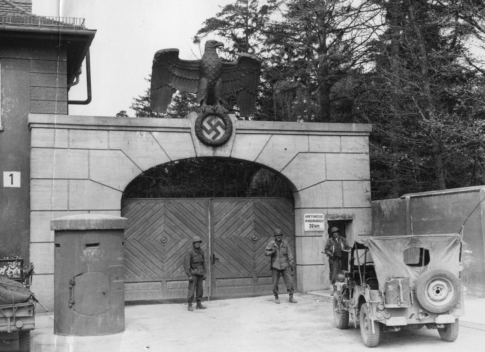 Dachau Main Gate