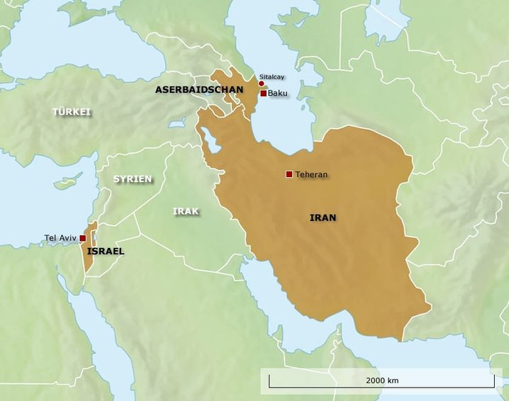Iran im Visier: Israelische Jets könnten von Aserbaidschan aus starten