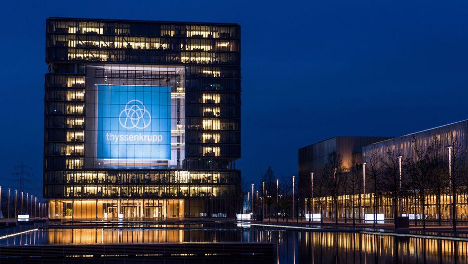 Konzernzentrale von ThyssenKrupp in Essen