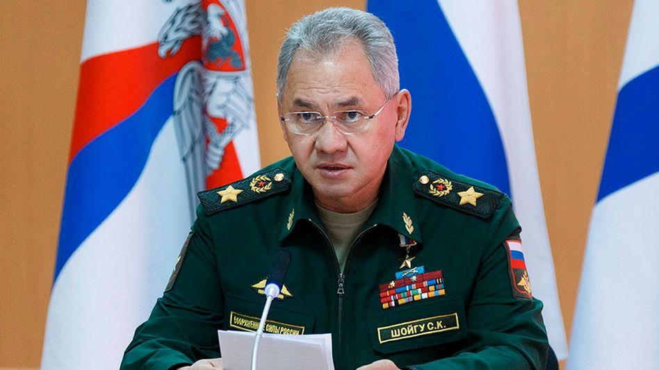 Russlands Verteidigungsminister Sergej Schoigu