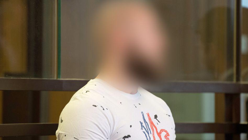 War es Mord? Angeklagter Marvin N. im Landgericht Berlin