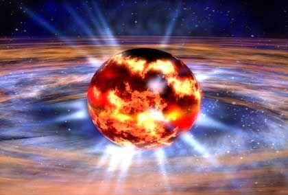 Neutronenstern: Superschwere Sonnenleiche unmittelbar vor der Explosion