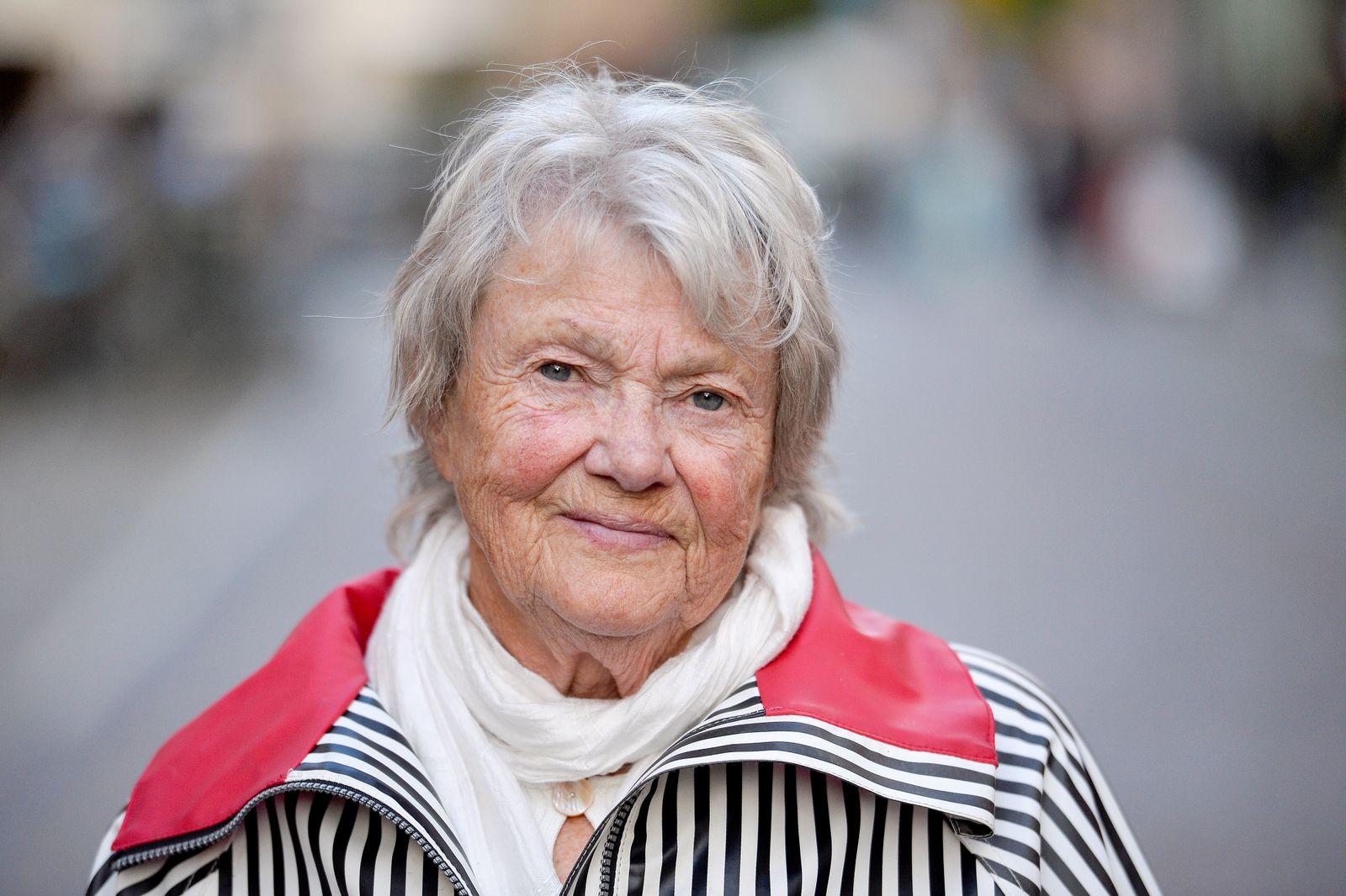 Swedish crime author Maj Sjowall