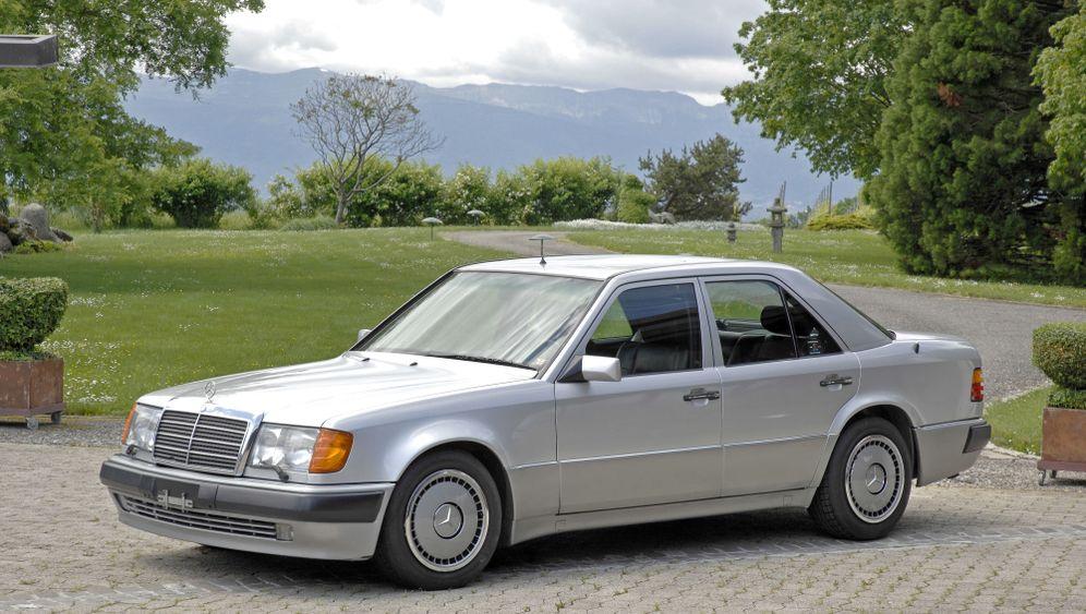 Mercedes W124: Auf dem Weg an die Spitze