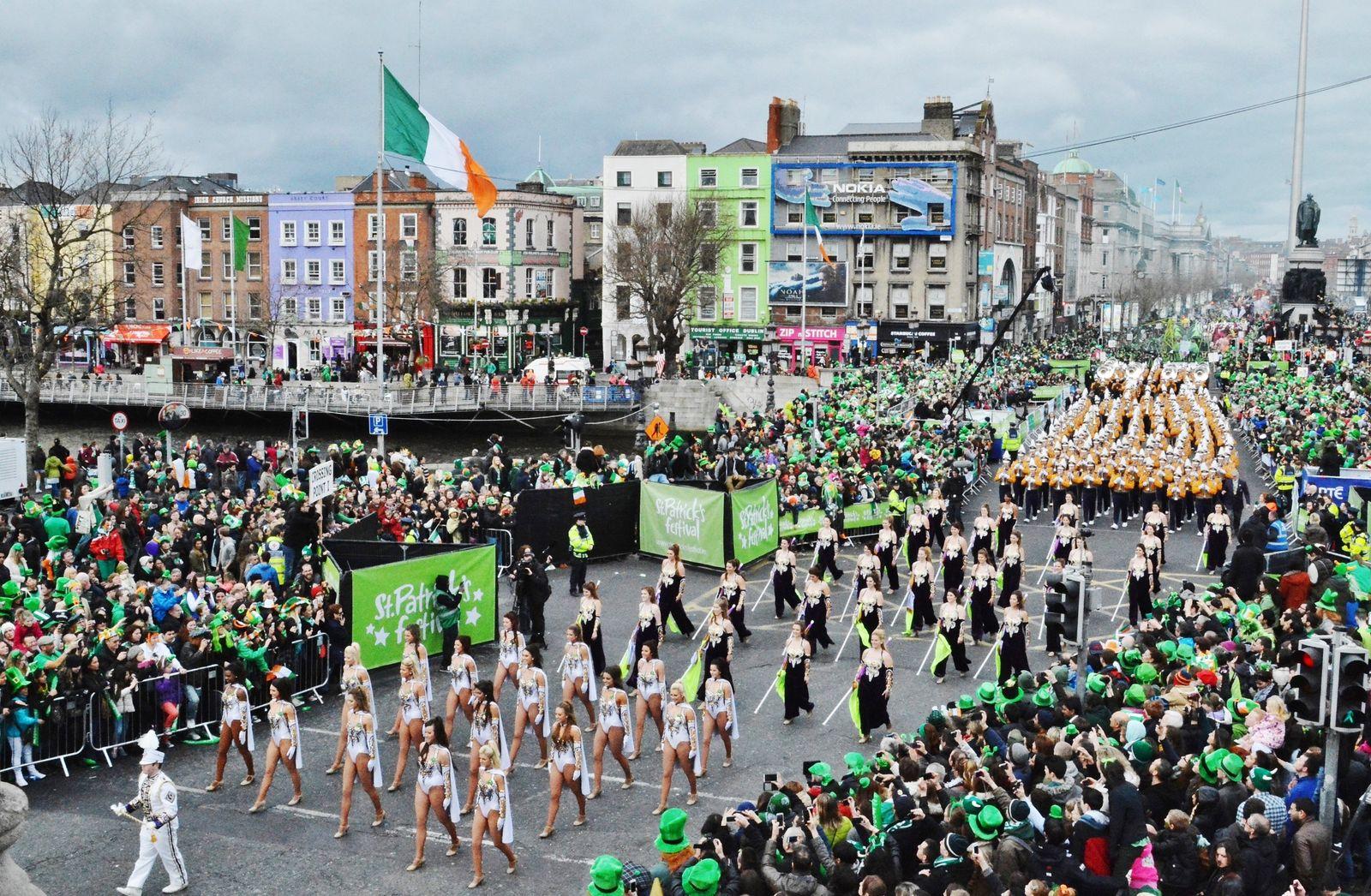 NICHT MEHR VERWENDEN! - EINMALIGE VERWENDUNG Reiseziele/ März/ St Patricks Day