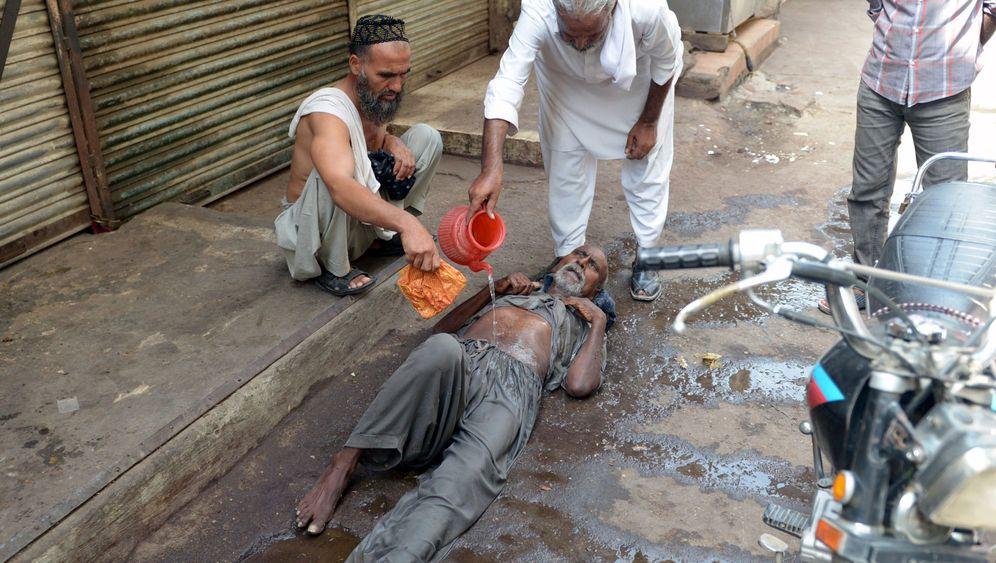 Tödliche Gefahr: Hitze in Pakistan