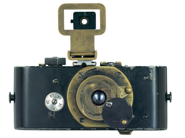 Ur-Leica von 1914. Erste Kleinbildkamera der Welt.