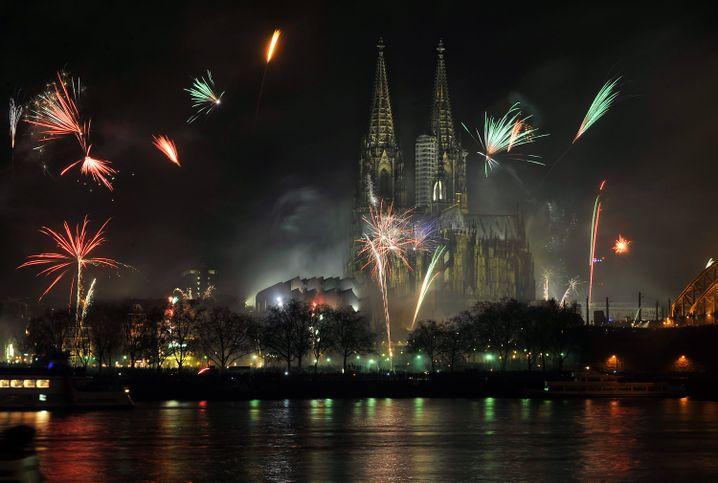 Ein Silvesterfeuerwerk – wie hier in Köln – wird es dieses Jahr nicht geben (Archivfoto)