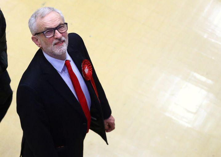 """Jeremy Corbyn: """"Eine sehr enttäuschende Nacht"""""""