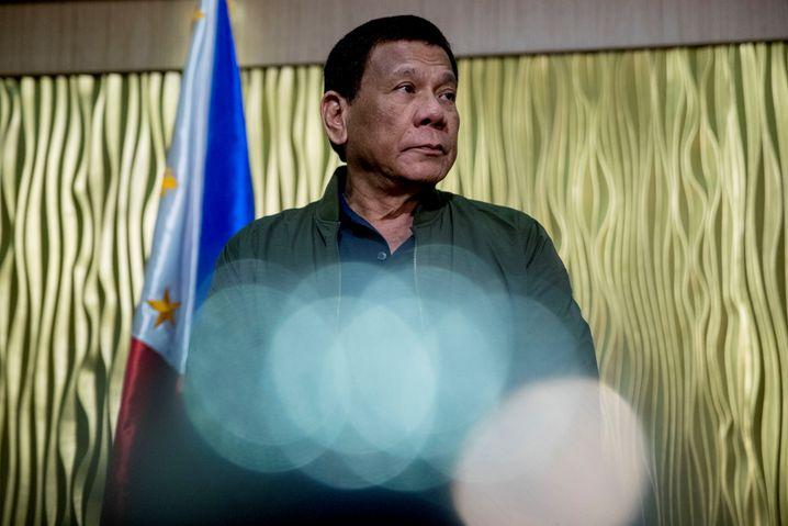 Regiert die Philippinen mit harter Hand: Präsident Rodrigo Duterte