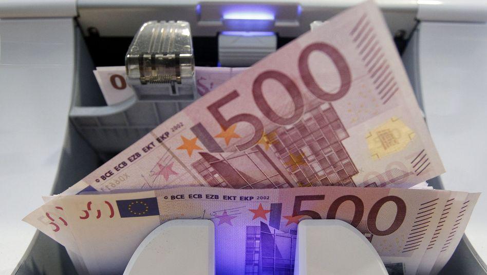 """500-Euro-Banknoten: """"Matratzen-Geld"""", das selten ans Tageslicht kommt"""