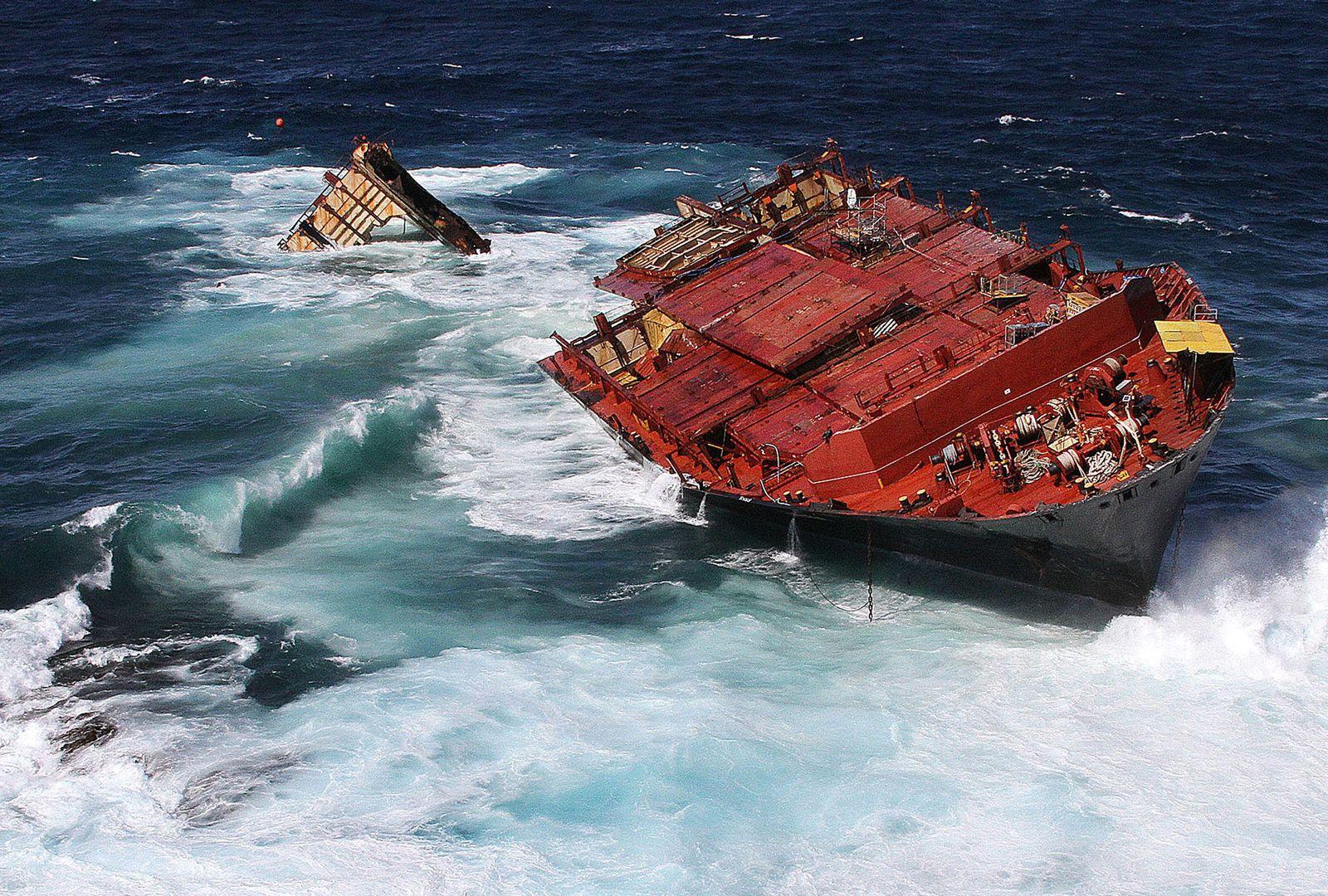 Frachtschiff Rena