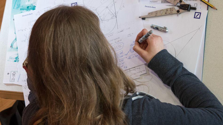 Teilnehmerin im Bundesfinale der Mathe-Olympiade