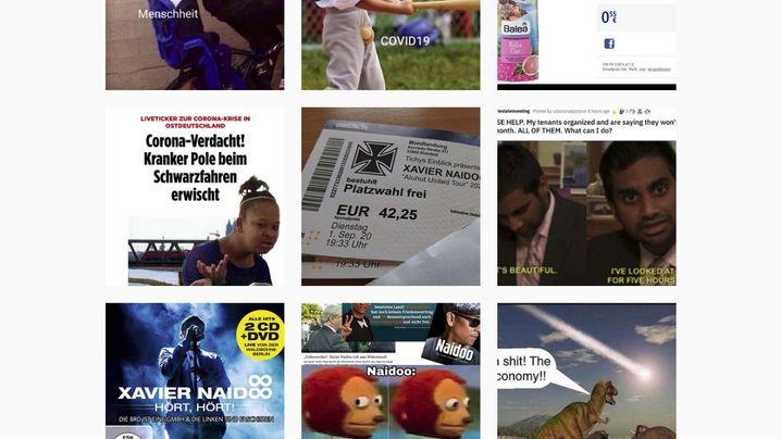 """Auf """"linksmemeversifft"""" werden linke Meme-Freundinnen und -Freunde mehrmals täglich mit neuem Inhalt versorgt"""