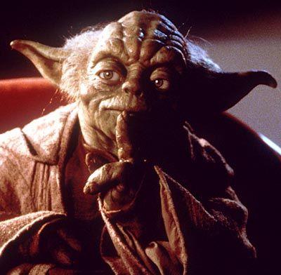 Jedi-Meister Yoda: Auf die Macht zu hören du erst lernen musst!