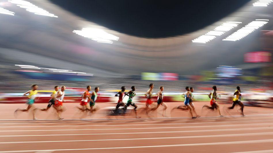 Bald auch olympisch? Das Khalifa International Stadium bei der Leichtathletik-WM 2019 in Doha