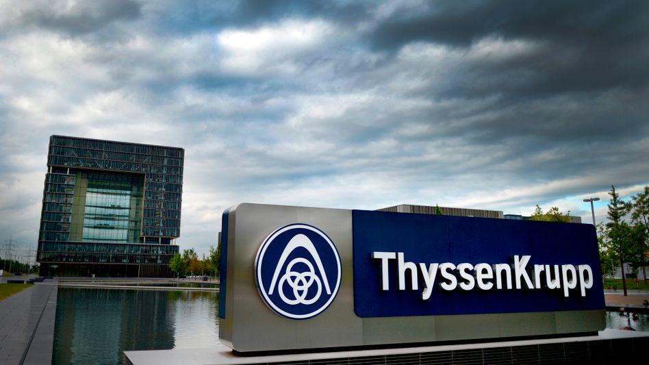 Zentrale von ThyssenKrupp in Essen: Schlusslicht im Dax