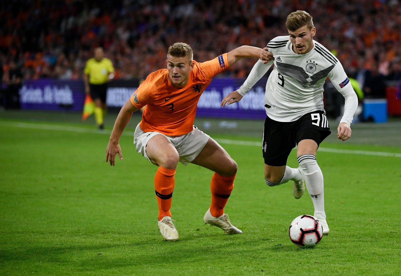 Niederlande - Deutschland Timo WErner