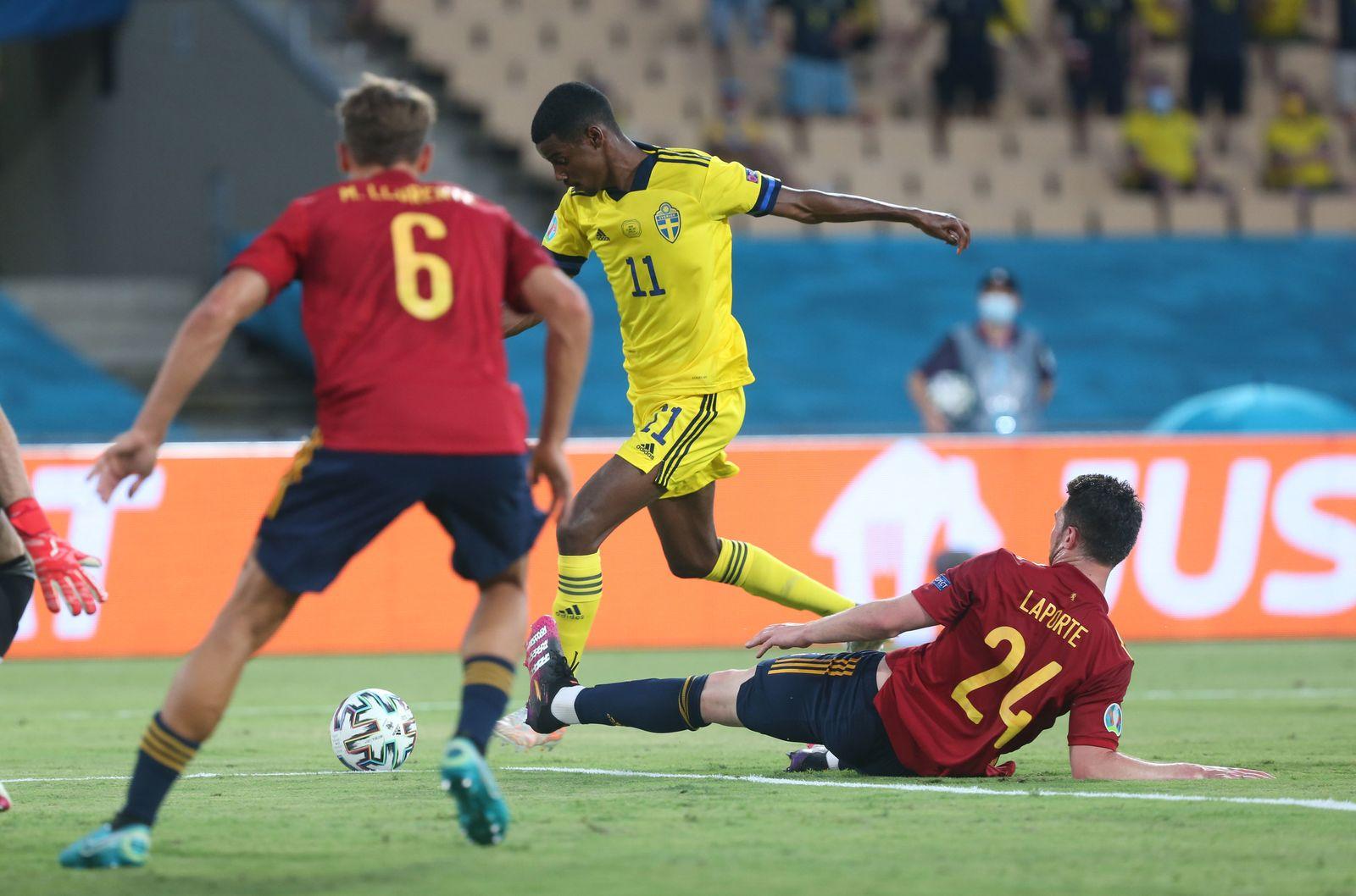 Fußball: EM, Gruppe E, Spanien - Schweden