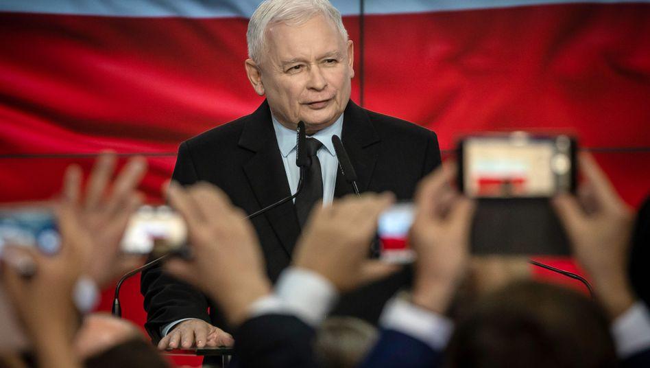PiS-Chef Kaczynski: Die EU redet, Polens Regierung schafft Tatsachen