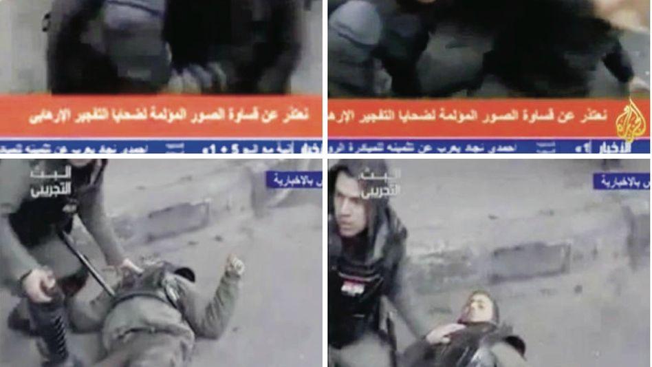 Videosequenz zum Anschlag in Damaskus am 6. Januar