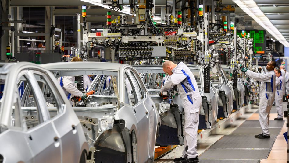Production of the VW ID.3 electric car