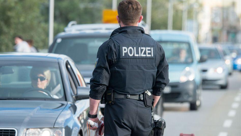 Bundespolizist in Bayern