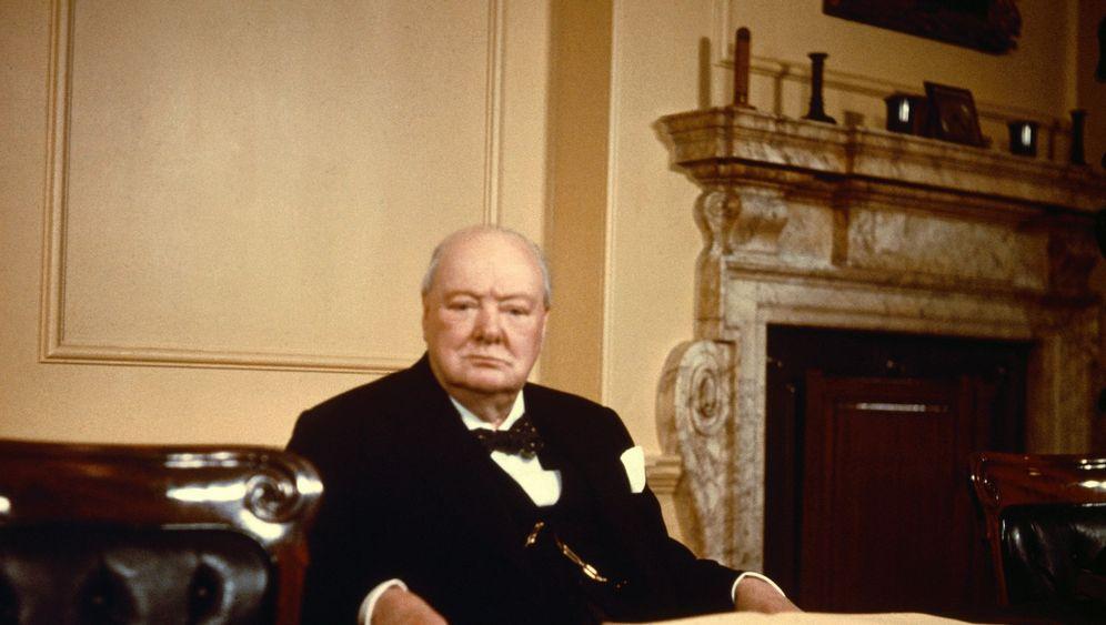 """Churchill und die Deutschen: """"Feist, aber machtlos"""""""