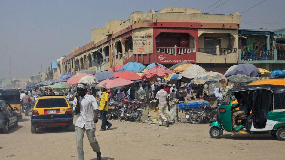 Wochenmarkt in Kano: Drama in Nordnigeria