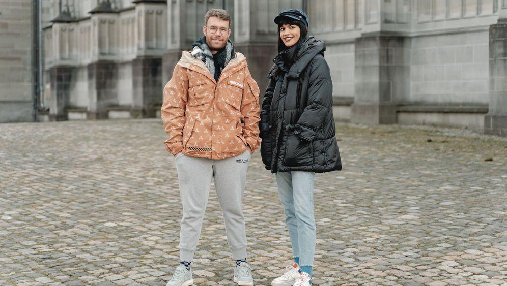 In Konstanz zu Hause: Miriam und Albero