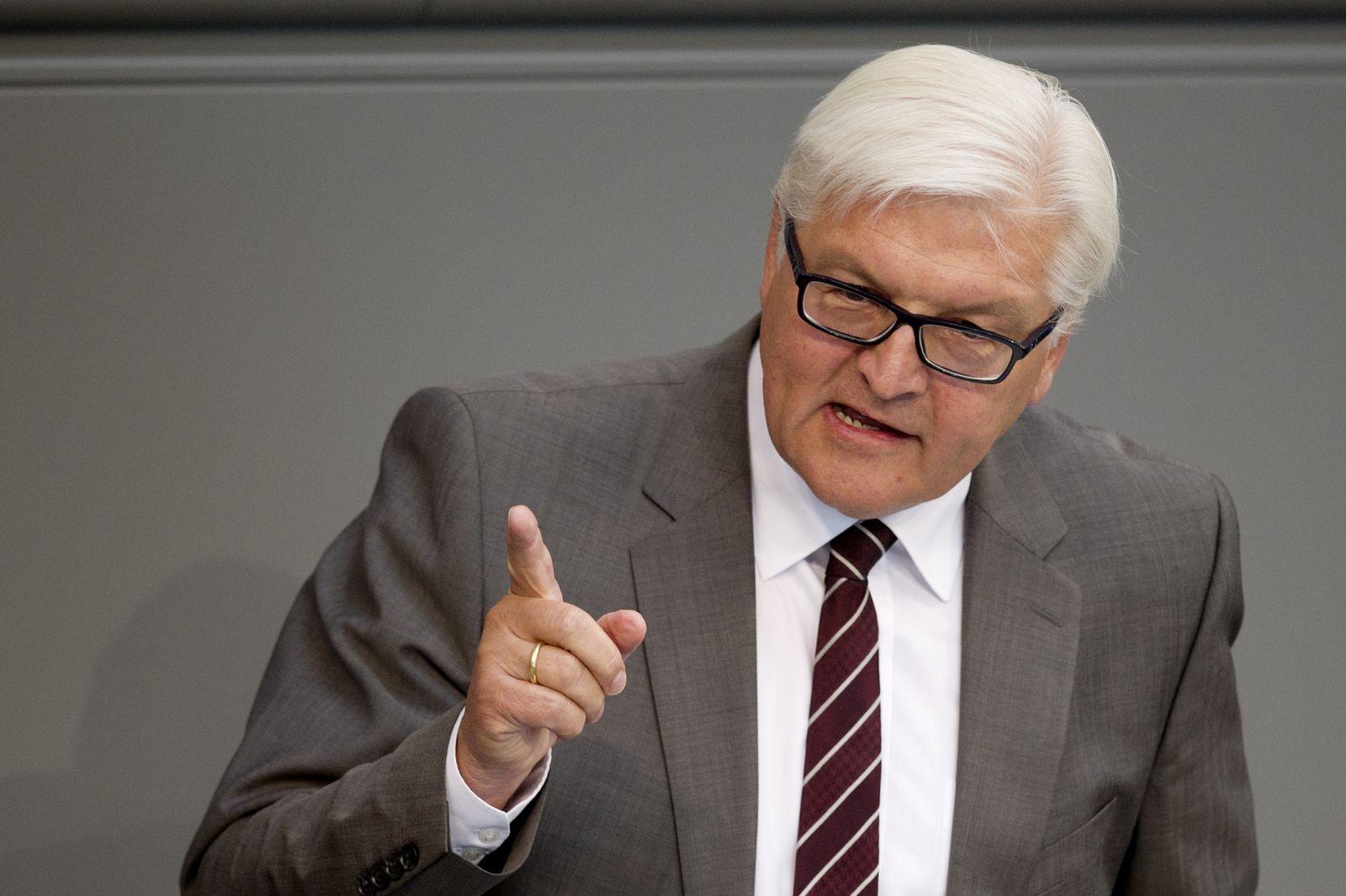 NICHT VERWENDEN Frank-Walter Steinmeier