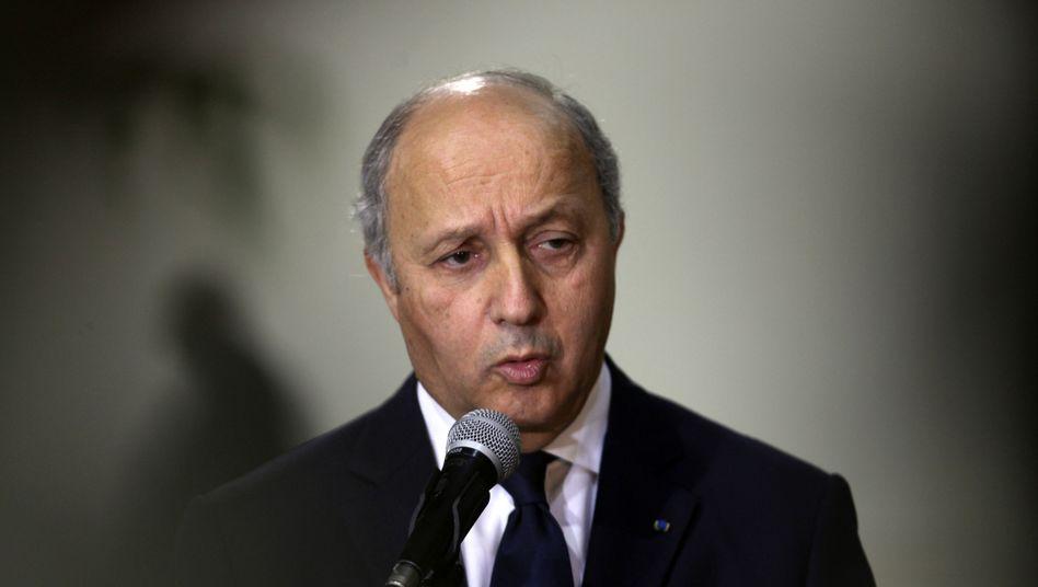 Frankreichs Außenminister Fabius: Unterstützung für Palästina