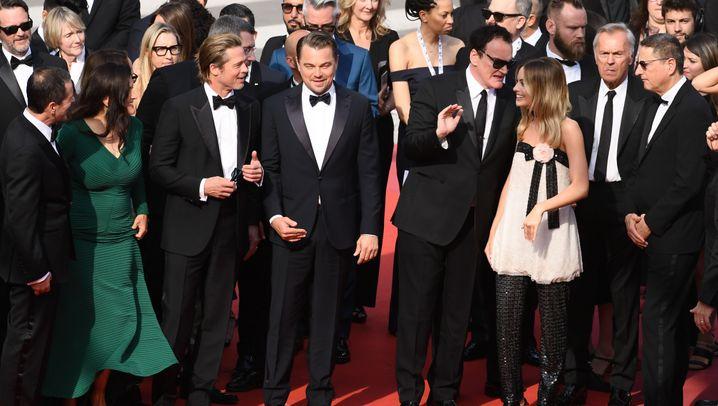 Premiere in Cannes: Roter Teppich für Tarantino
