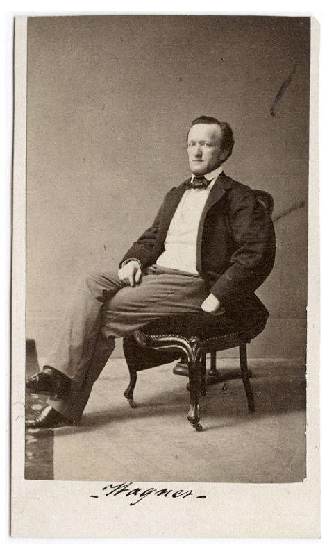 Fotografie Richard Wagners aufgetaucht
