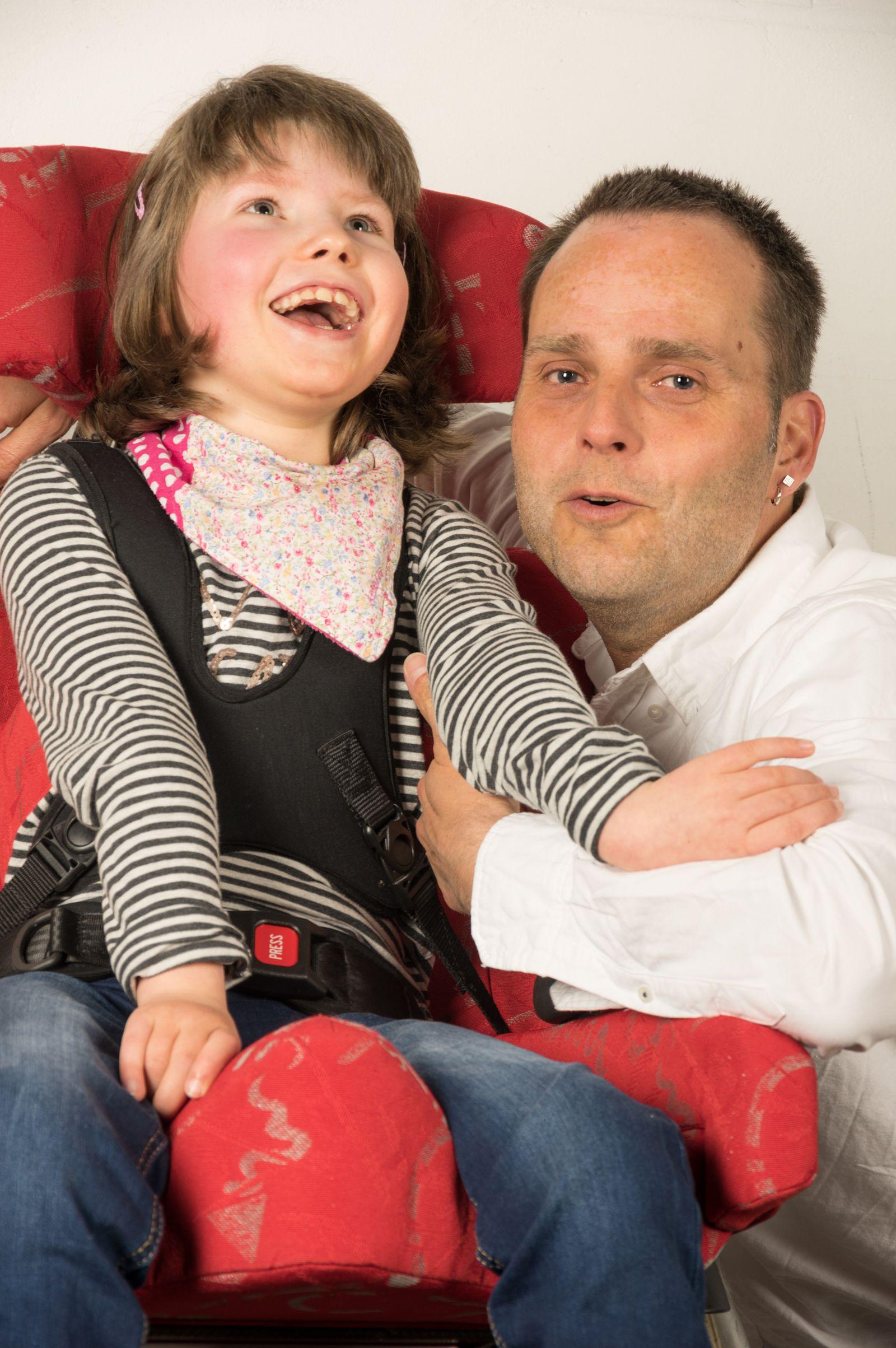 Marco Hörmeyer mit Tochter Amelie
