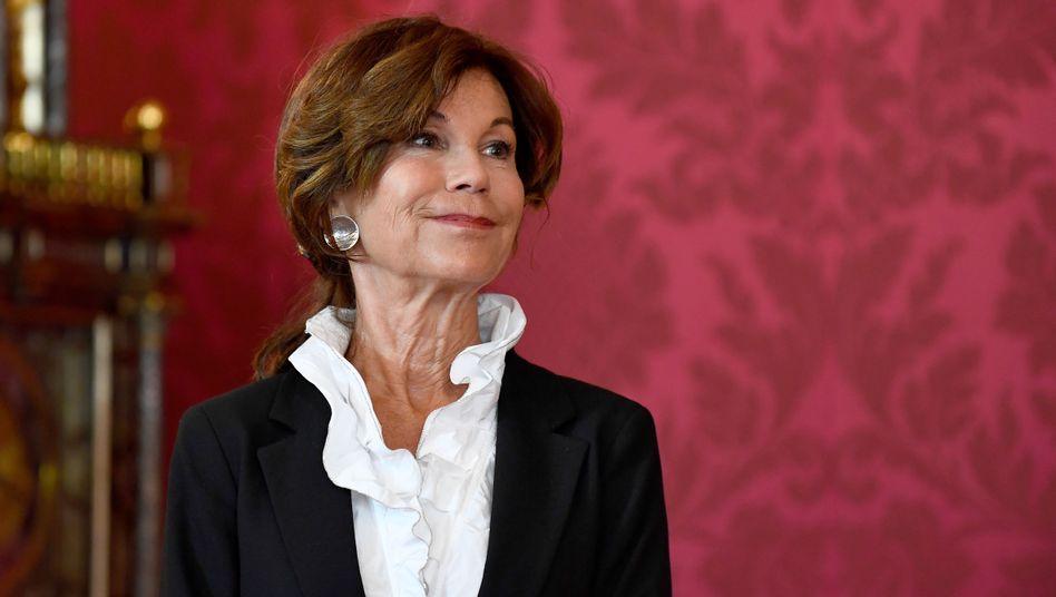 Die Kanzlerin nach Kurz: Brigitte Bierlein