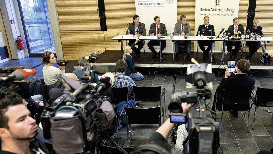 Pressekonferenz der Polizei in Freiburg »Da muss man den Rücken gerade machen«