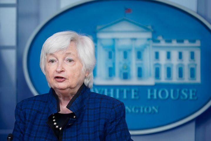 Die US-Finanzministerin Janet Yellen