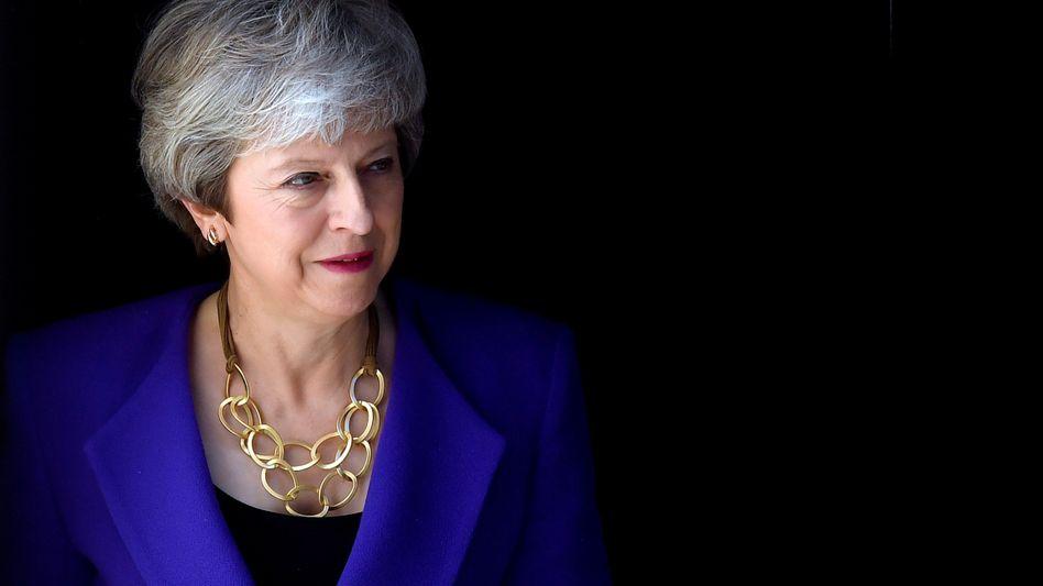 Premierministerin Theresa May wird sich wohl nicht mehr lange im Amt halten können - britische Medien melden, sie wolle am Freitag ihren Rücktritt ankündigen