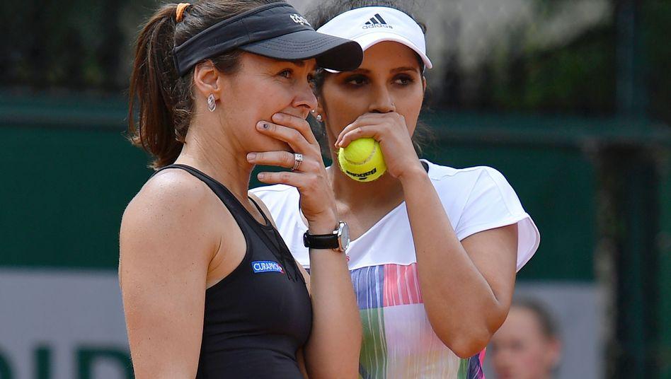 Martina Hingis und Sania Mirza