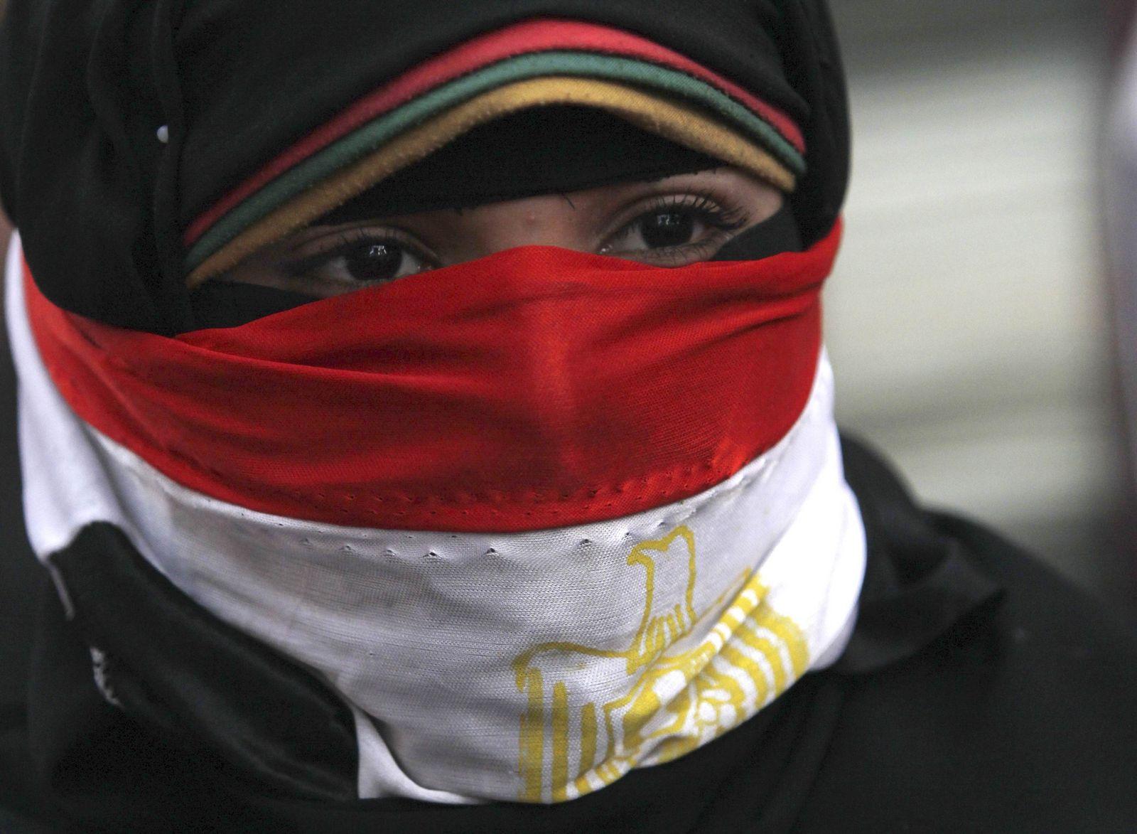 Ägyptische Frau