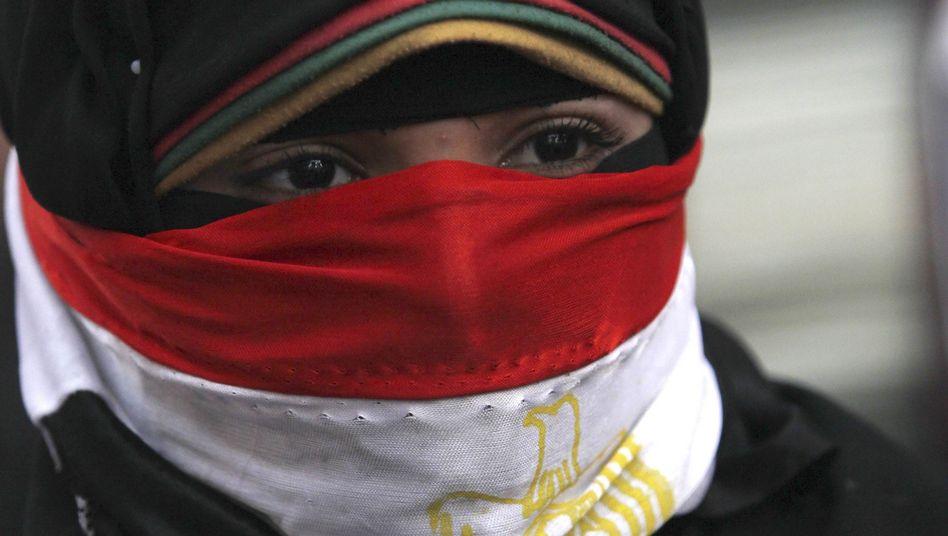 """Demonstrantin in Kairo: """"Frauenfeindlichkeit auf allen Ebenen"""""""