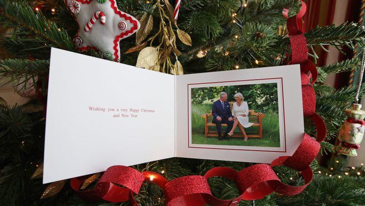 Britische Königsfamilie: Royale Weihnachtsgrüße