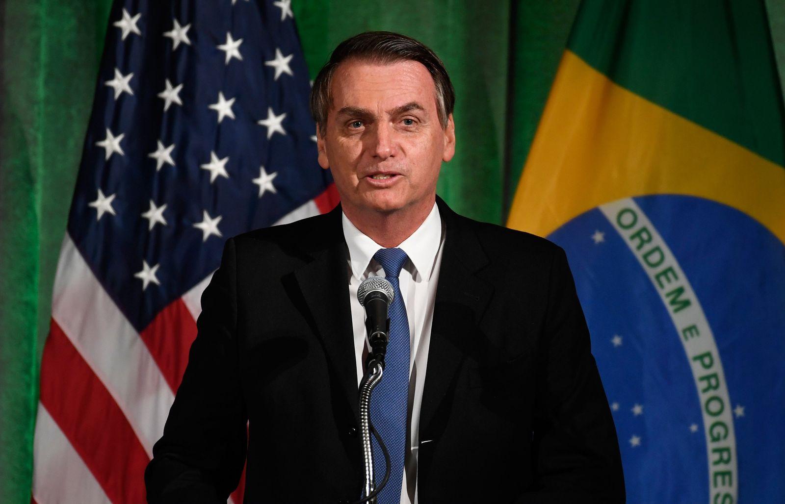 Jair Bolsonaroin den USA