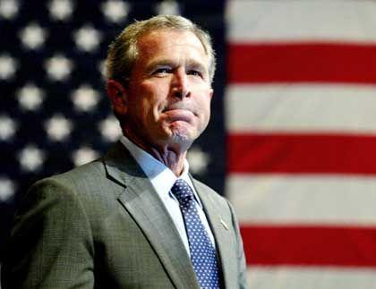 """""""Ungewollter Nebeneffekt"""": Bush"""
