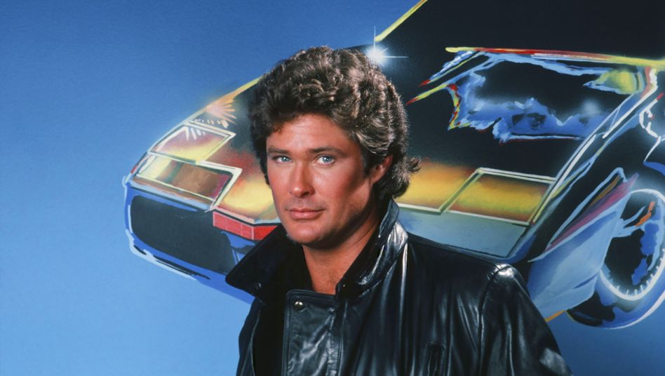 """David Hasselhoff in der TV-Serie """"Knight Rider"""""""