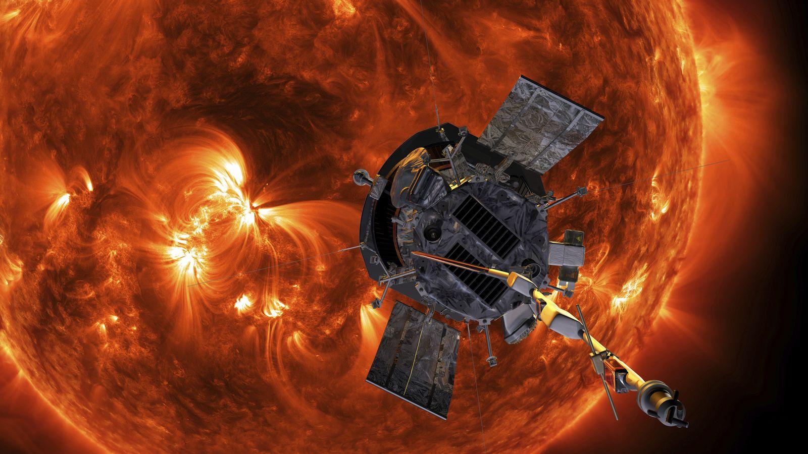 EINMALIGE VERWENDUNG Parker Solar Probe