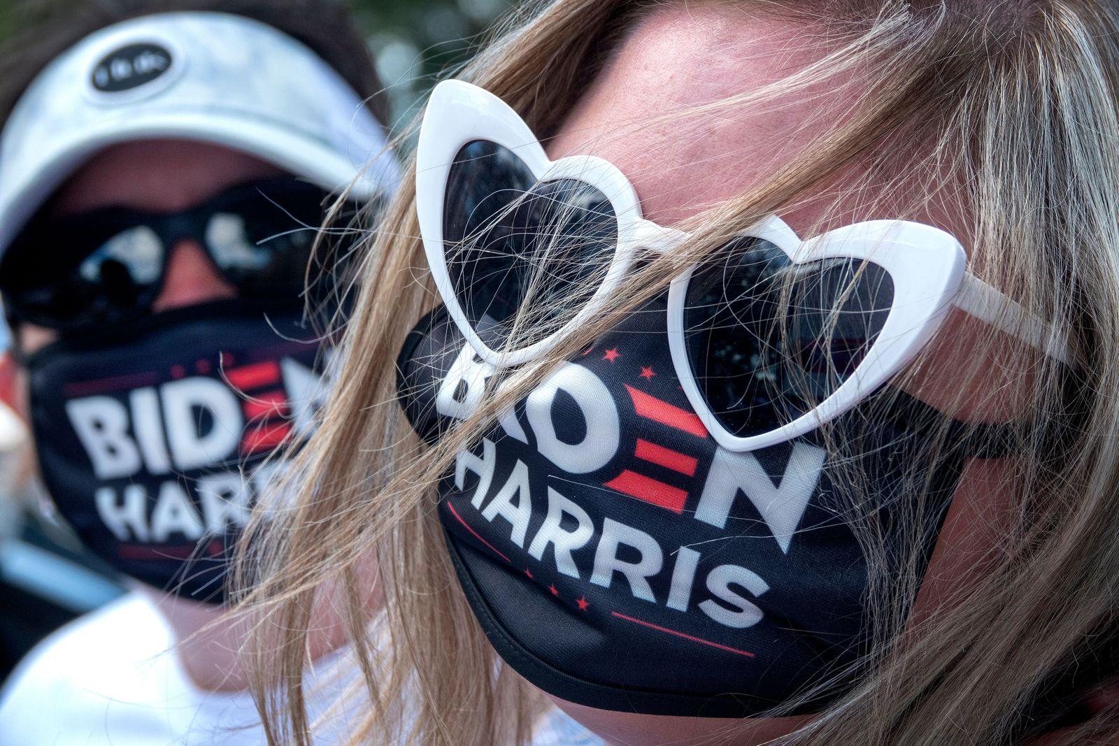 Caravan in Miami in support Democratic Candidate Joe Biden, USA - 18 Oct 2020