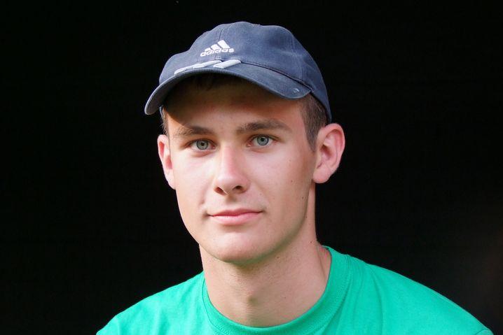 Johannes Kunert, 19, ging aus Neugier erst ins Kloster, dann zum Bund