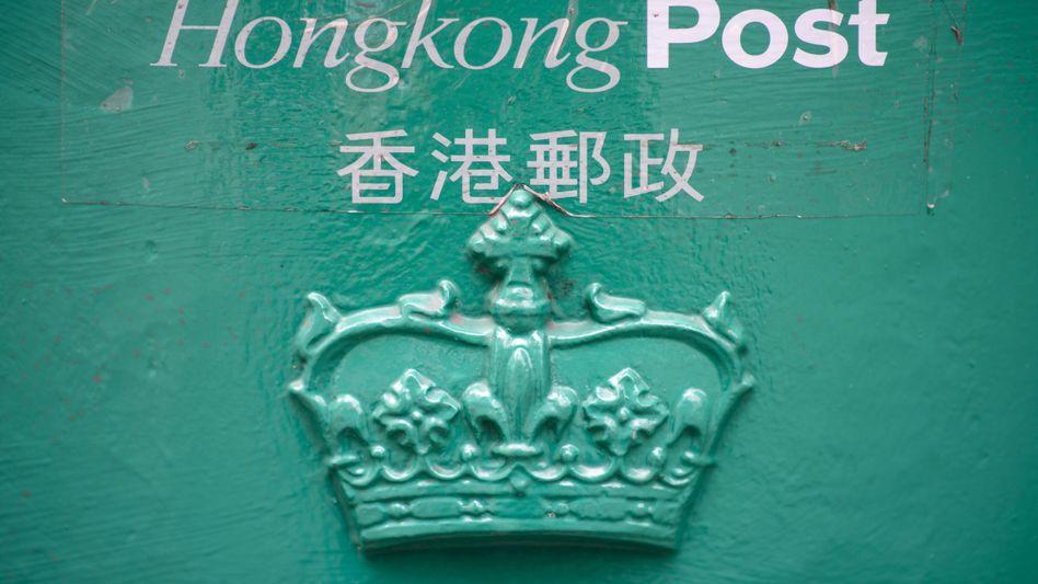 Briefkasten in Hongkong